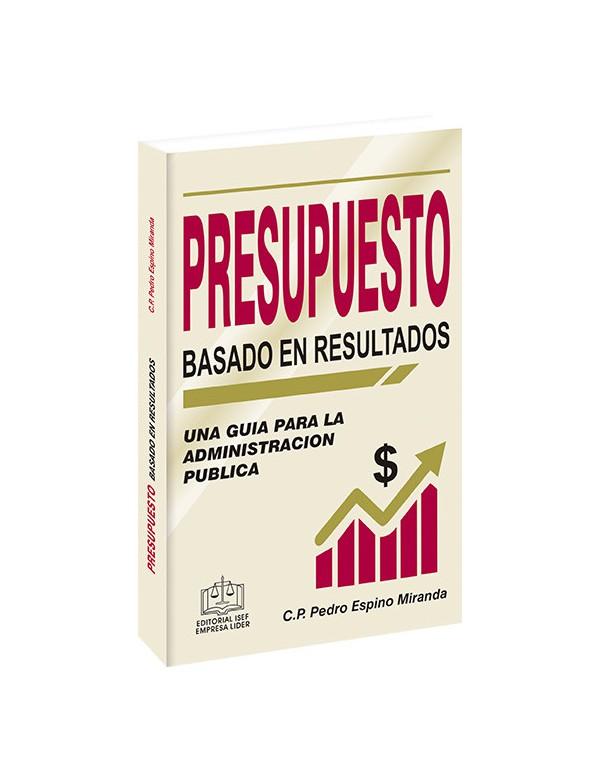 PRESUPUESTO BASADO EN RESULTADOS 2020