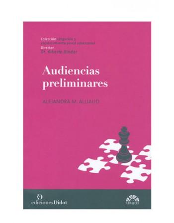 Audiencias Preliminares 2016