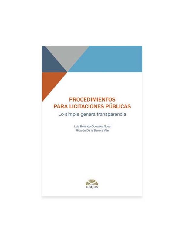 Procedimientos para Licitaciones Públicas 2019 (UBIJUS)