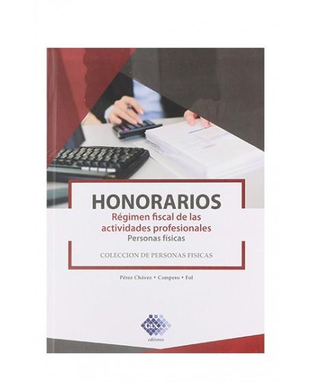 Honorarios Personas Fisicas 2019 (TAX)