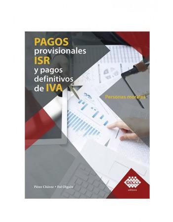 Pagos Provisionales ISR Personas Morales 2020 (TAX)