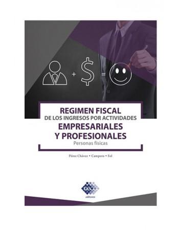 Regimen Fiscal de los Ingresos por Actividades 2020 (TAX)