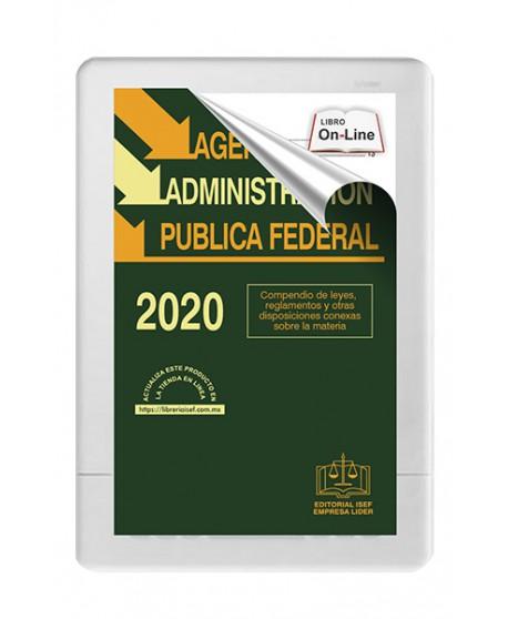 SWF Agenda de la Administración Pública Federal 2020 ONLINE