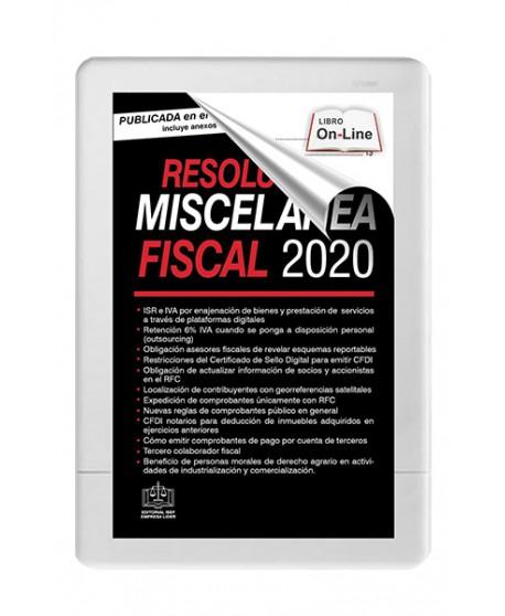 SWF Resolución Miscelánea Fiscal 2020