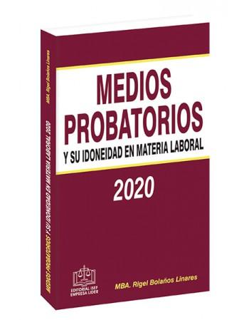 Medios Probatorios y su...