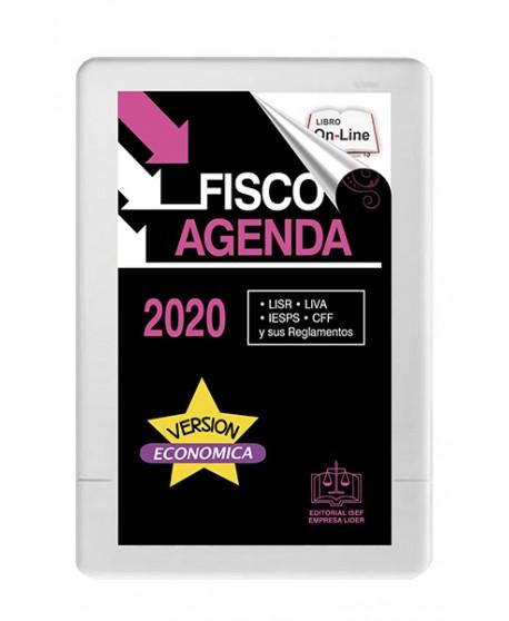 SWF Fisco Agenda Rosa Estudiantil 2020 ONLINE