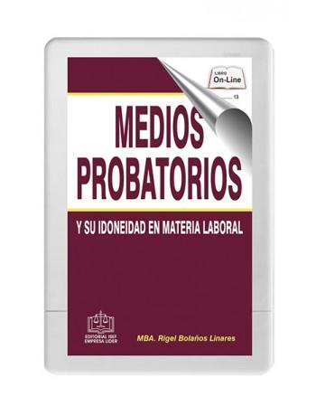 SWF Medios Probatorios y su...