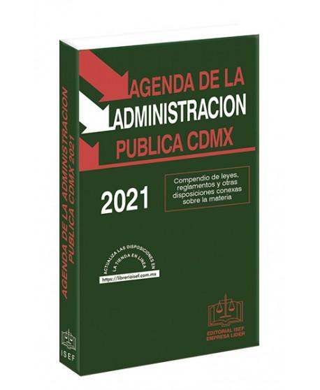 Agenda de la Administración Pública de la Ciudad de México 2021