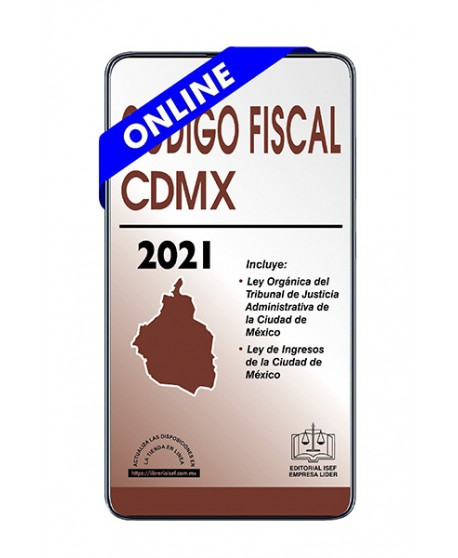 SWF Código Fiscal de la Ciudad de México Económico 2021 ULTIMA VERSION ONLINE