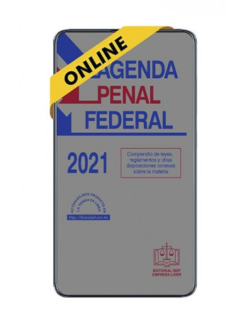 SWF Agenda Penal Federal...