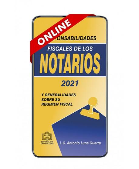 SWF Responsabilidades Fiscales de los Notarios 2021 ONLINE