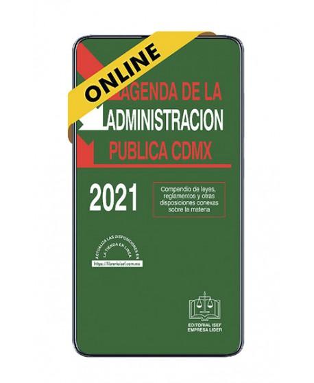 SWF Agenda de la Administración Pública de la Ciudad de México 2021 ONLINE
