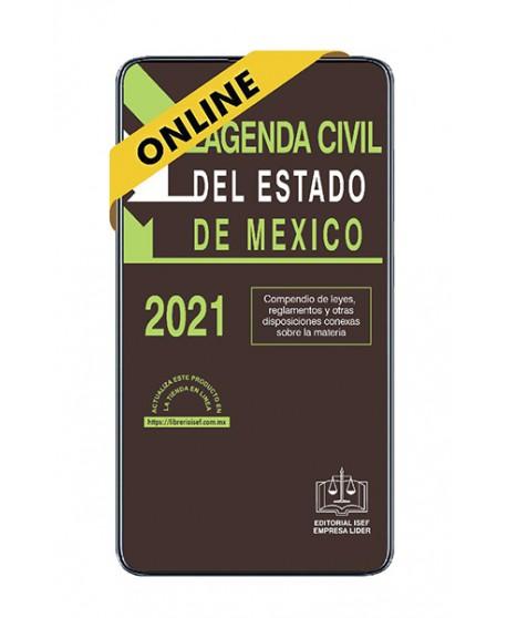 SWF Agenda Civil del Estado de México 2021 ONLINE