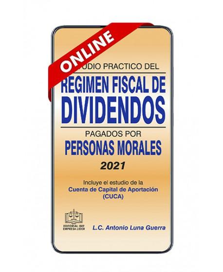 SWF Estudio Práctico del Régimen Fiscal de Dividendos Pagados por Personas Morales 2021 ONLINE