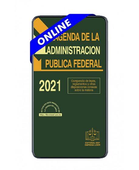 SWF Agenda de la Administración Pública Federal 2021 ONLINE