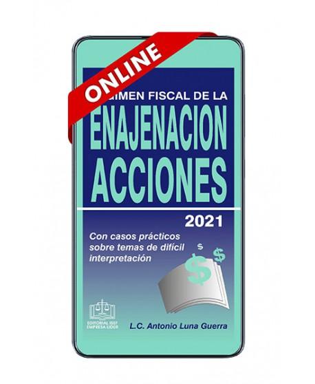 SWF Régimen Fiscal de la Enajenación de Acciones 2021 ONLINE
