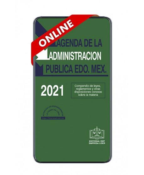 SWF Agenda de la Administración Pública del Edo. de México 2021 ONLINE