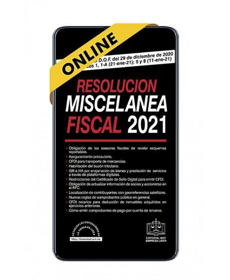 SWF Resolución Miscelánea Fiscal 2021 ONLINE
