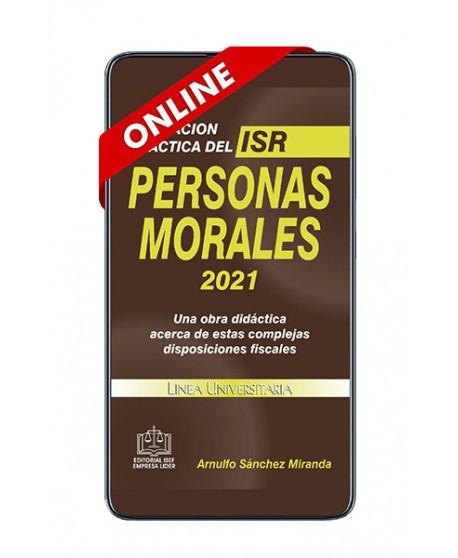 SWF Aplicación Práctica del ISR Personas Morales 2021 ONLINE