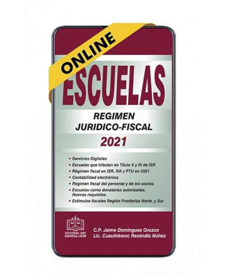 SWF Escuelas Régimen Jurídico-Fiscal 2021 ONLINE