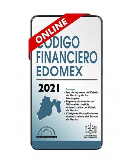 SWF Código Financiero del Edo. de México Económico 2021 ONLINE ULTIMA EDICION ACTUALIZADO al  5 de marzo de 2021