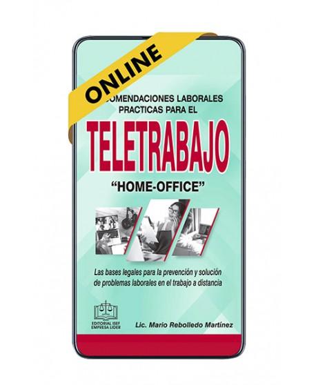 """SWF Recomendaciones Laborales Prácticas para el Teletrabajo """"Home Office""""  ONLINE"""