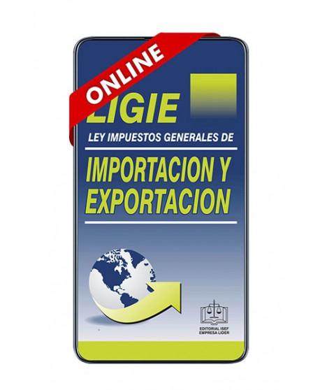 SWF Ley de los Impuestos Generales de Importación y Exportación (LIGIE) 2021 ULTIMA EDICION ONLINE