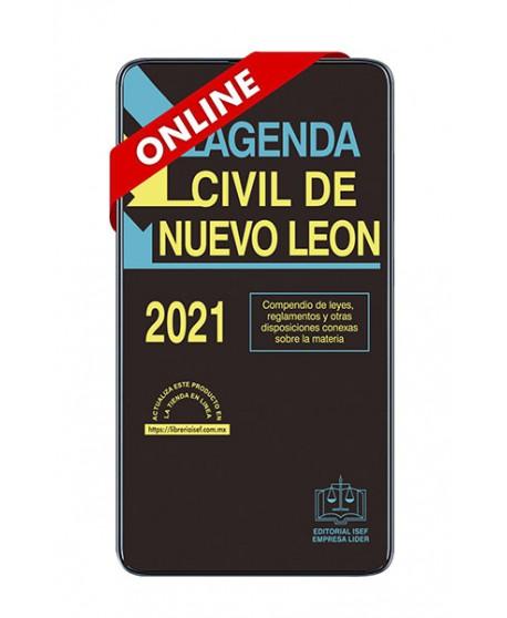 SWF Agenda Civil de Nuevo León 2021 ULTIMA EDICION ONLINE