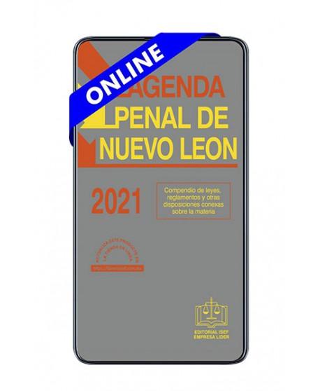 SWF Agenda Penal de Nuevo León 2021 ULTIMA EDICION  ONLINE