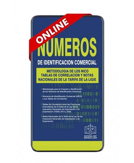 SWF Números de Identificación Comercial PRIMERA EDICION ONLINE