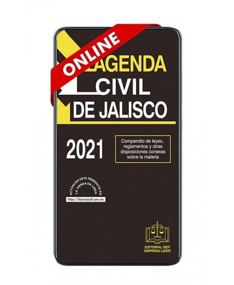 SWF AGENDA CIVIL DEL ESTADO DE JALISCO 2021 ONLINE ULTIMA EDICION
