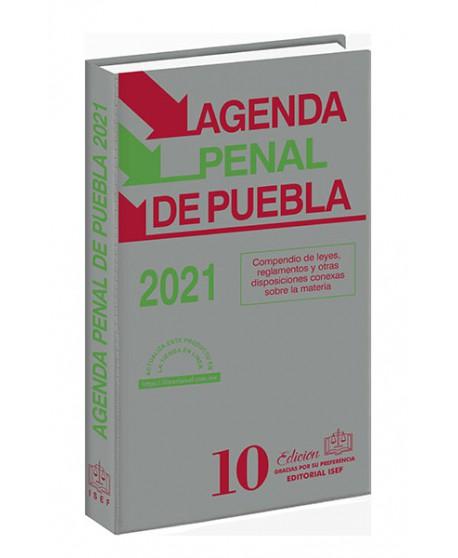 Agenda Penal del Estado de Puebla 2021