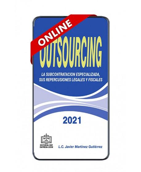 SWF Outsourcing La Subcontratación Especializada, sus Repercusiones Legales y Fiscales 2021 ONLINE