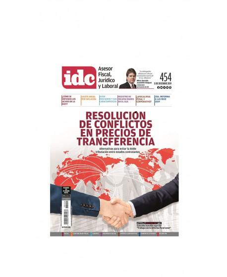 Asesor Fiscal, Juridico y Laboral 454 1ra de Diciembre 2019 (IDC)