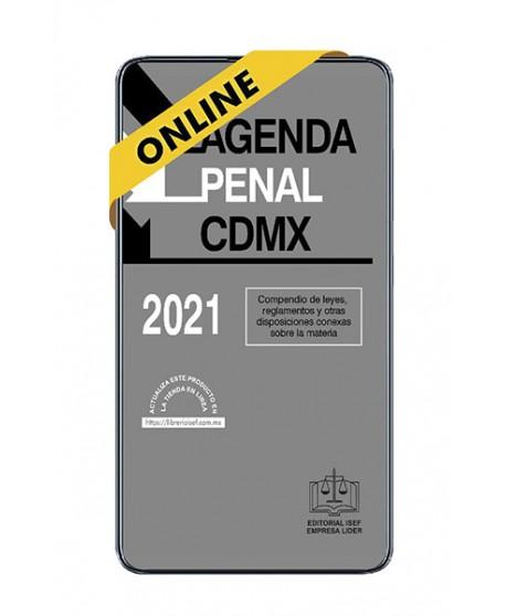 SWF Agenda Penal de la Ciudad de México 2021 ULTIMA EDICION ONLINE