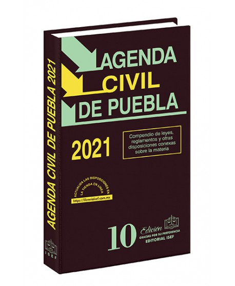 Agenda Civil del Estado de Puebla 2021