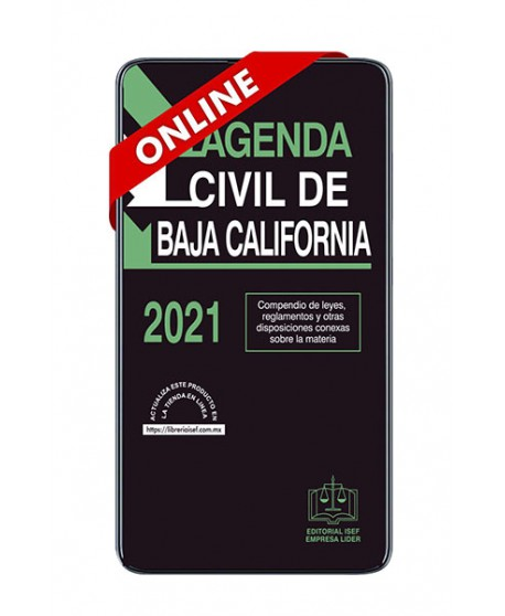 SWF Agenda Civil de Baja California 2021 ONLINE