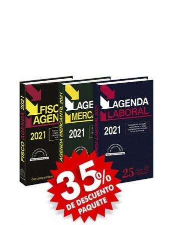 Paquete de 3 Agendas: Fisco...